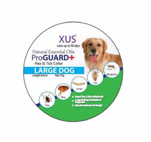 XUS Flea and Tick Collars all sizes dogs and cats all natural