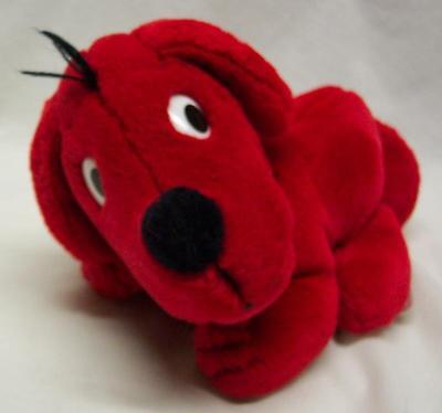 "DAKIN 1990 Scholastic CLIFFORD THE BIG RED DOG 8"" Plush STUFFED ANIMAL Toy"