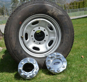 New Ford Superduty rims & new General LT245-75-17 Tires