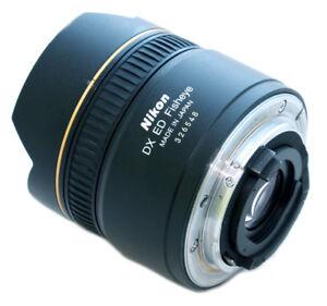 Nikon 10.5 mm F2.8 Fisheye Lens