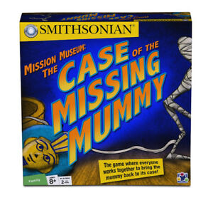 Smithsonian Mission Museum: The Case of the Missing Mummy