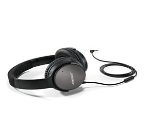 Bose QuietComfort 25 Noise Cancelling  - Apple devices black