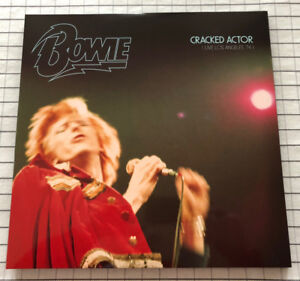 Vinyl Record - David Bowie Cracked Actor Live 74 - 3xLP Set RSD