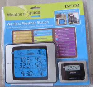 Taylor Wireless Weatherguide System with Remote Sensor London Ontario image 1