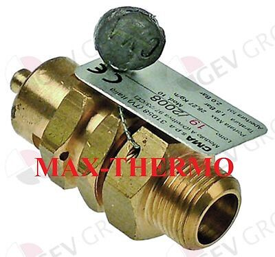Astoria-cma Cookmax Wega-cma Safety Valve Connection 38 Triggering Pressure
