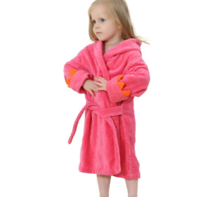 NEW! Pink Dinosaur Kids bathrobe