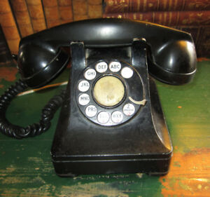 Antique Telephone 1935 Designed by Henry Dreyfuss