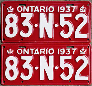 YOM Licence Plates For Your Old Auto - Ministry Guaranteed! Windsor Region Ontario image 4