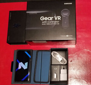Samsung Galaxy S8+ Orchid Grey & Gear VR w/ controller