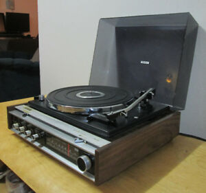 Vintage Denon CMS 510 12D Record Player Turntable - Needs Repair
