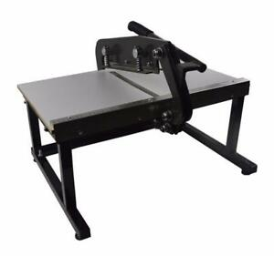 Manual Fabric Cutting Machine Sewing Supply Clothing DIY Design Brand New 230528