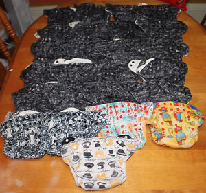 Bumgenius Elemental Lot One Sized, All in one Cloth diapers
