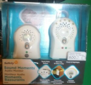 Safety 1st Sounds Moments Baby Monitor Set