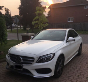 Lease Takeover: 2017 Mercedes-Benz C300 4MATIC Sedan with IDP!