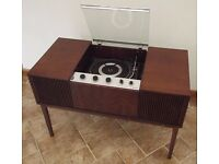 Vintage Bush Record Player, requires attention