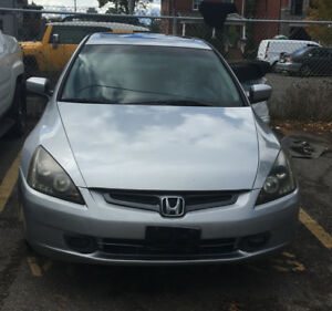2005 Honda Accord EX-L Sedan,