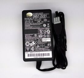 For HP 0957-2231 Photosmart Printer C4280 4580 D1468 D2468 Power Charger Adapter