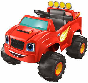 Ride one floatables party toys Rental Power Wheels Blaze Monster