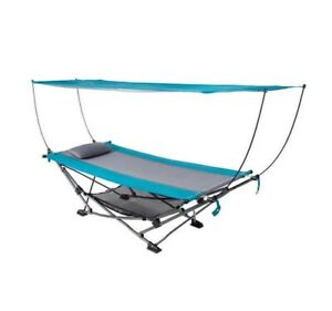 Foldable Hammock With Canopy