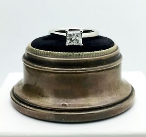 Birks 1879 Solitaire Canadian Diamond Engagement Ring w/ 0.71ct