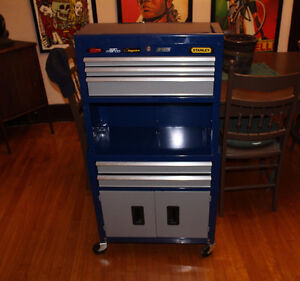 STANLEY TOOL CHEST With BIKE TOOLS OUTILS drivers spoke etc..