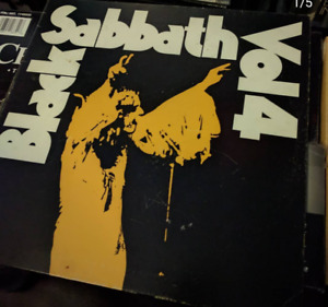 Black Sabbath - Vol. 4 vinyl lp record