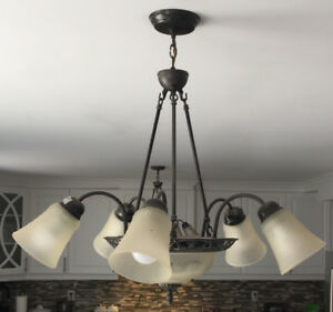 Chandelier ($40 each) & Ceiling Light ($20 each)