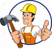ouvrier et homme a tout faire