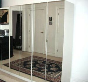 IKEA pax mirrored 3 Wardrobes