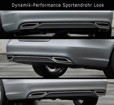 Mercedes CLS X218 Dynamik-Performanc Endrohr 4flutig mit Heckblende AB 09.2014 P