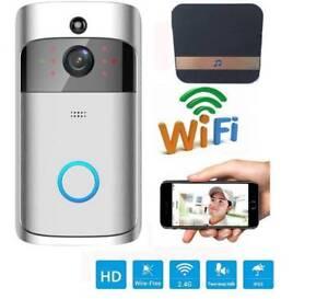 New Wireless Doorbell Ring Chime Door Bell Video Camera WiFi IP