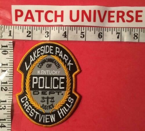 LAKESIDE PARK KENTUCKY  POLICE  SHOULDER  PATCH  R010