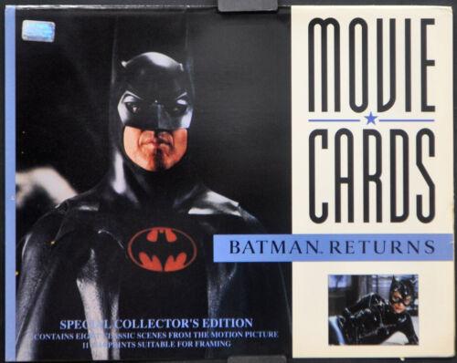BATMAN RETURNS 1992 ORIGINAL 11X14 NEAR MINT 8 CARD LOBBY SET MICHAEL KEATON