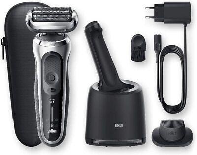 Braun Series 7 70-S7200cc Afeitadora Eléctrica de Lámina Con Centro De Limpieza