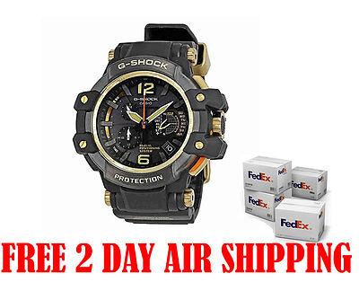 Casio G-Shock GPW1000GB-1A GravityMaster GPS Hybrid Wave Ceptor Black Gold Watch