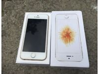 iPhone SE EE - Virgin 32GB Gold Excellent condition