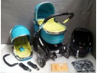 iCandy Peach Full Travel system in Sweet Pea