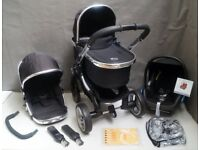 iCandy Peach in Black Magic. FULL TRAVEL SYSTEM !!!