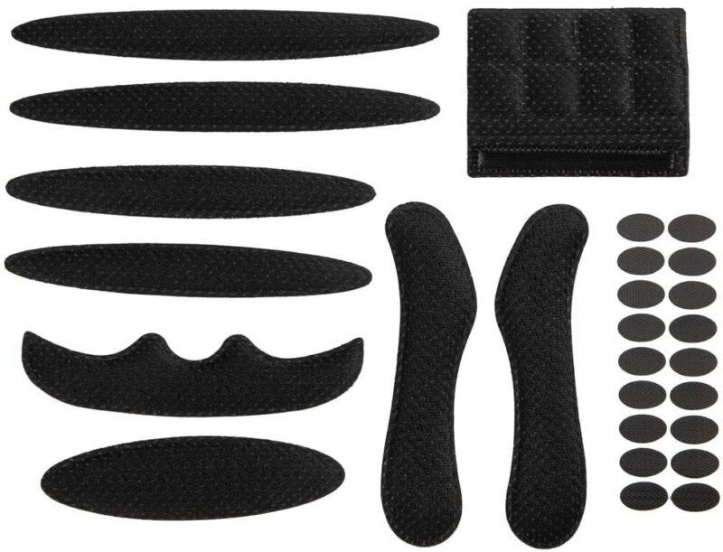 27 Pcs Helmet Padding Kits Replacement Motorcycle Bicycle Foam Pads Set NEW