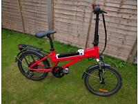 "20"" drop handle bar electric bike"