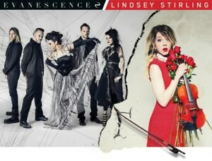 Evanescence + Lindsey Sterling tickets