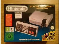 Brand New Boxed Nintendo Classic Mini (Nintendo Entertainment System - NES)