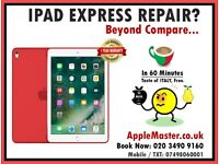 iPad Touch Screen Repairs - Express 1 hour iPad 2/3/4, Mini, Air, Pro Apple Quic Fix
