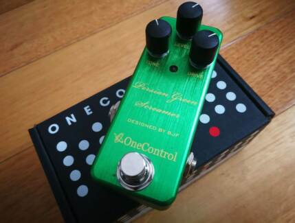 One Control Persian Green Screamer Guitar Effects Pedal