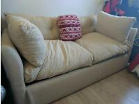 2 seat sofa bed for sale - open to offers