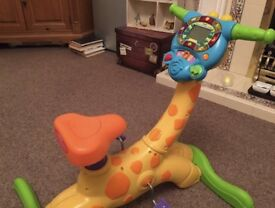 Vetch Bounce & Ride Giraffe