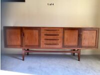 G PLAN FRESCO SIDEBOARD AND DINING TABLE SET