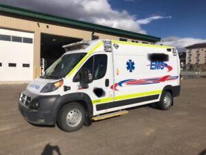 2016 Ram 3500 Promaster Ambulance