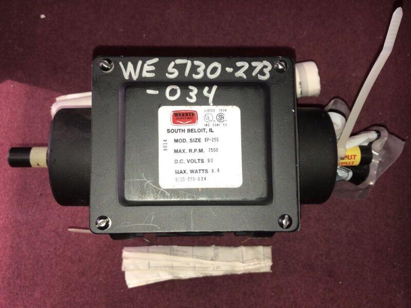 Warner Electric Clutch Break Assembly WE 5130-273-034