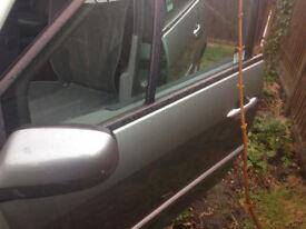Renault Scenic II Green Front Passanger Door